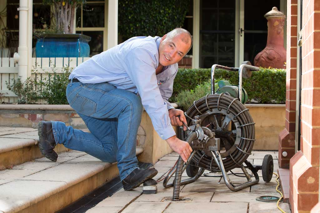 Power drain cleaning adelaide