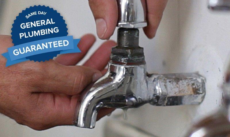 plumber leaking tap