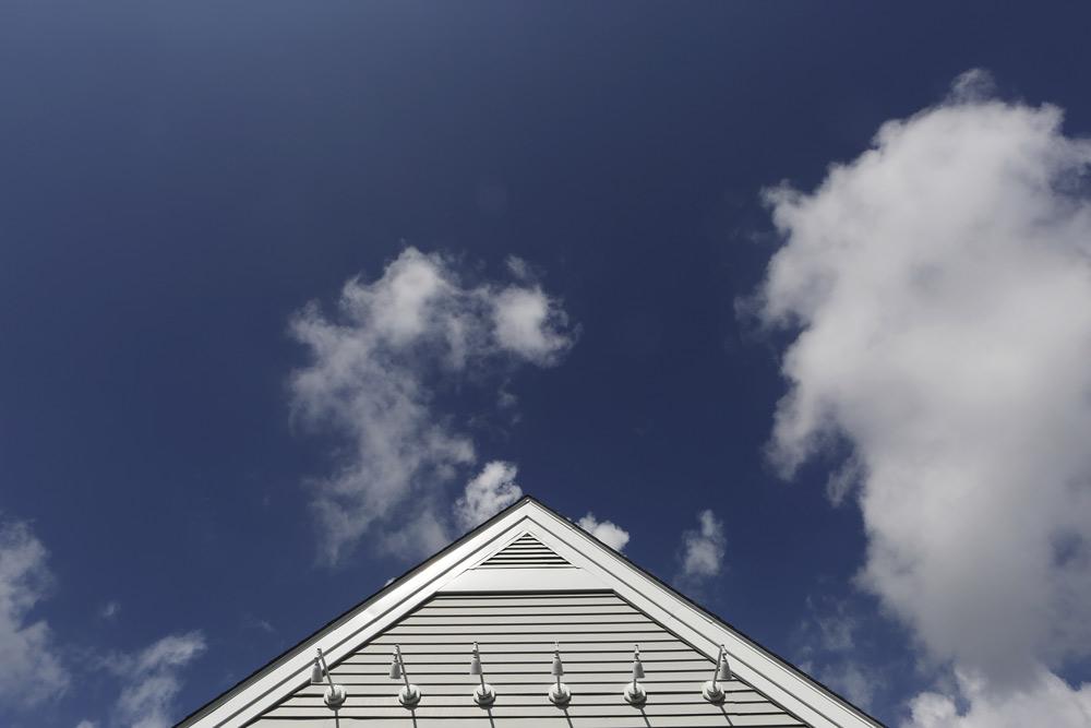 Roof House Sky